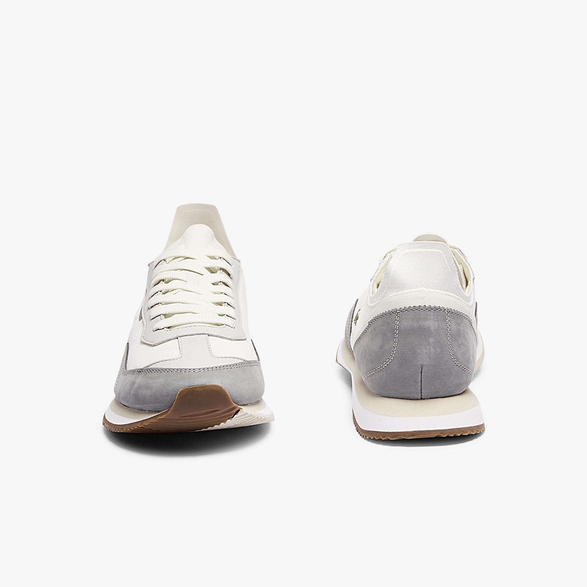 Lacoste Match Break 0721 1 G Sma Erkek Bej Sneaker