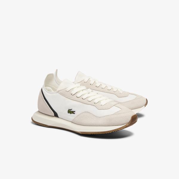 Lacoste Match Break 0721 1 Sfa Kadın Bej Sneaker