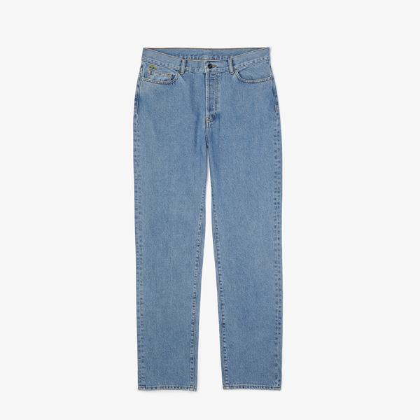 Lacoste L!ve Erkek Açık Denim Pantolon
