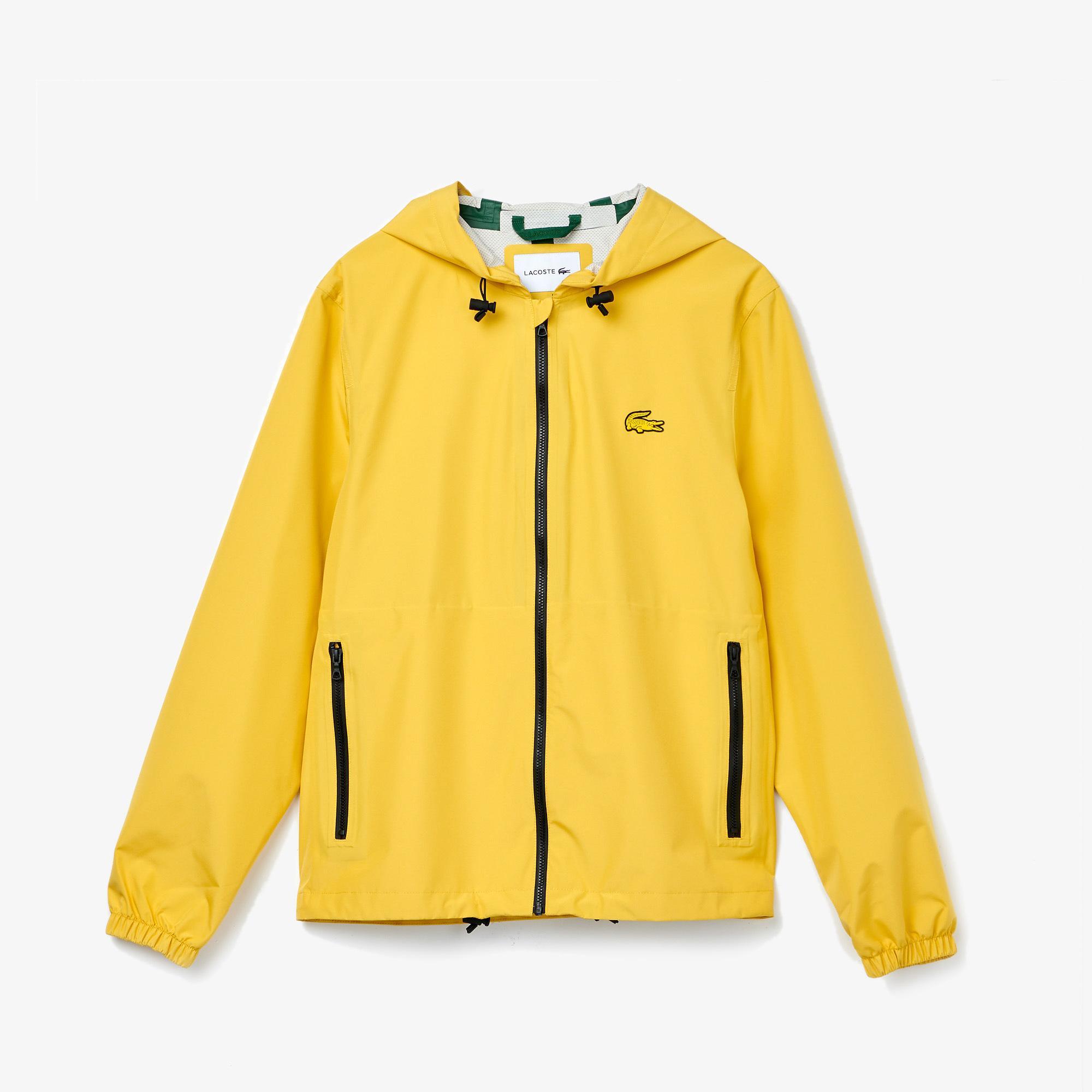 Lacoste Kadın Kapüşonlu Sarı Mont
