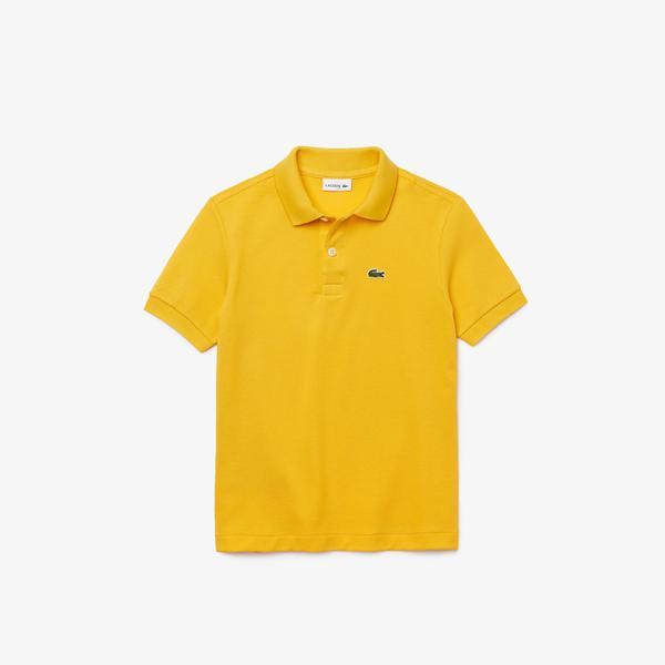 Lacoste Çocuk Sarı Polo