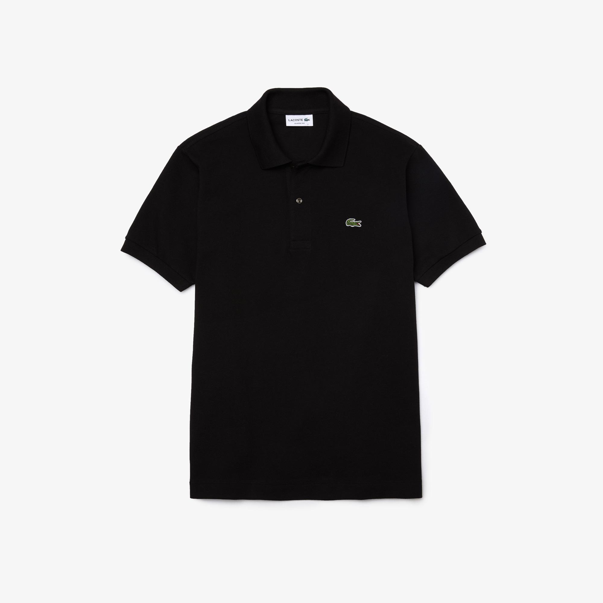 Lacoste Erkek Klasik Fit L1212 Siyah Polo
