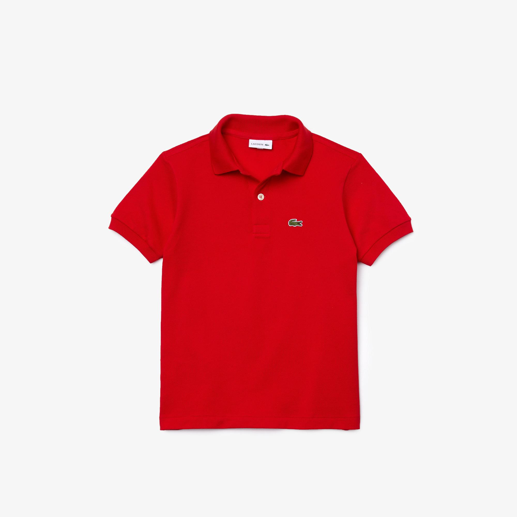 Lacoste Erkek Çocuk Regular Fit Kırmızı Polo