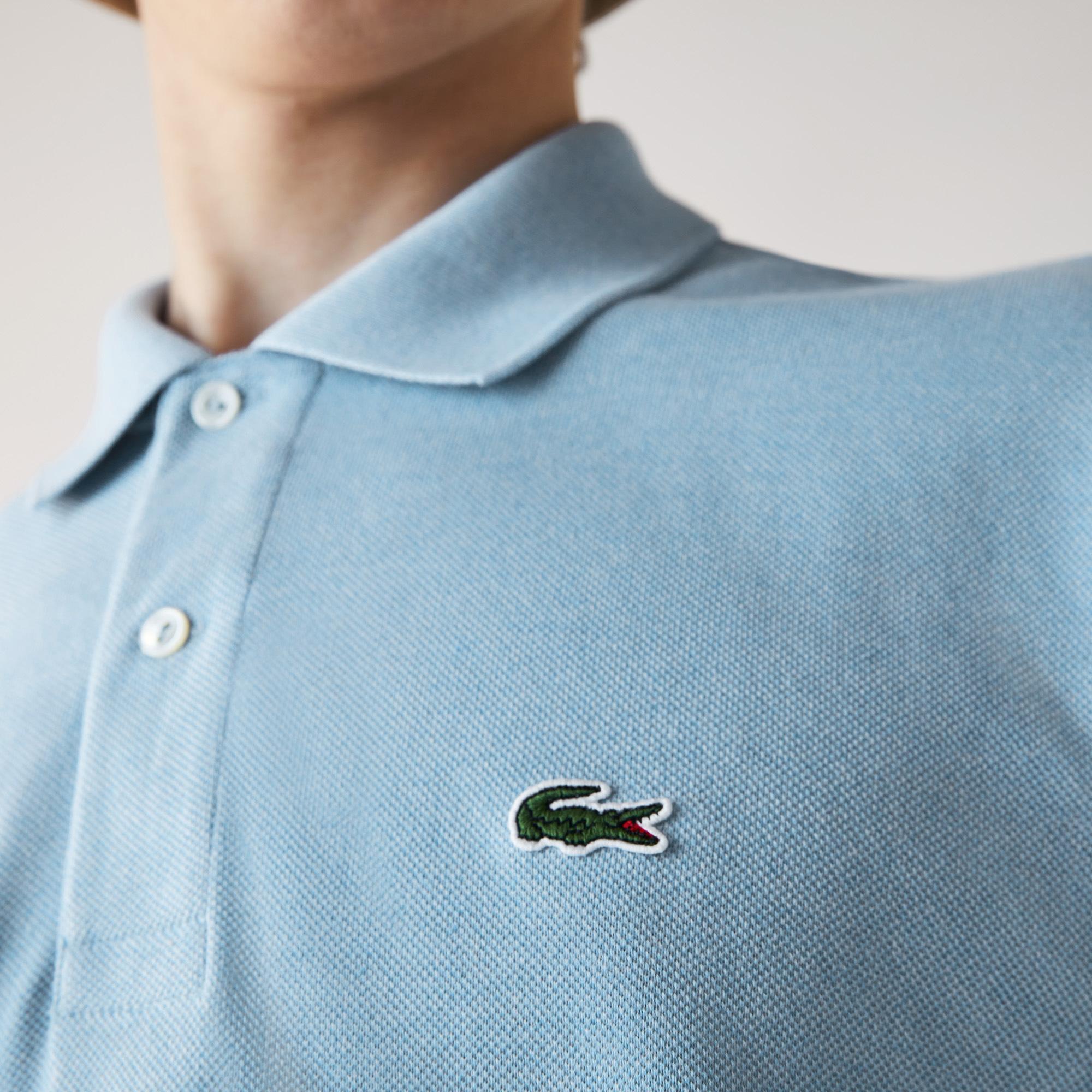 Lacoste Erkek Klasik Fit Açık Mavi Polo