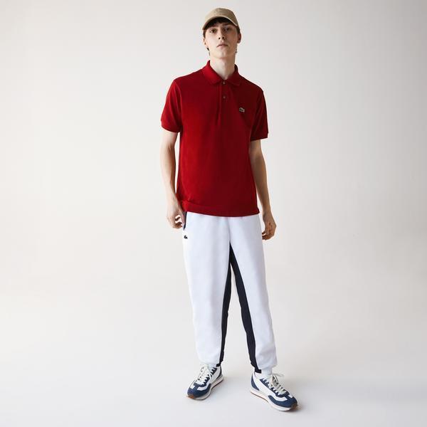 Lacoste Erkek Klasik Fit Kırmızı L1212 Polo