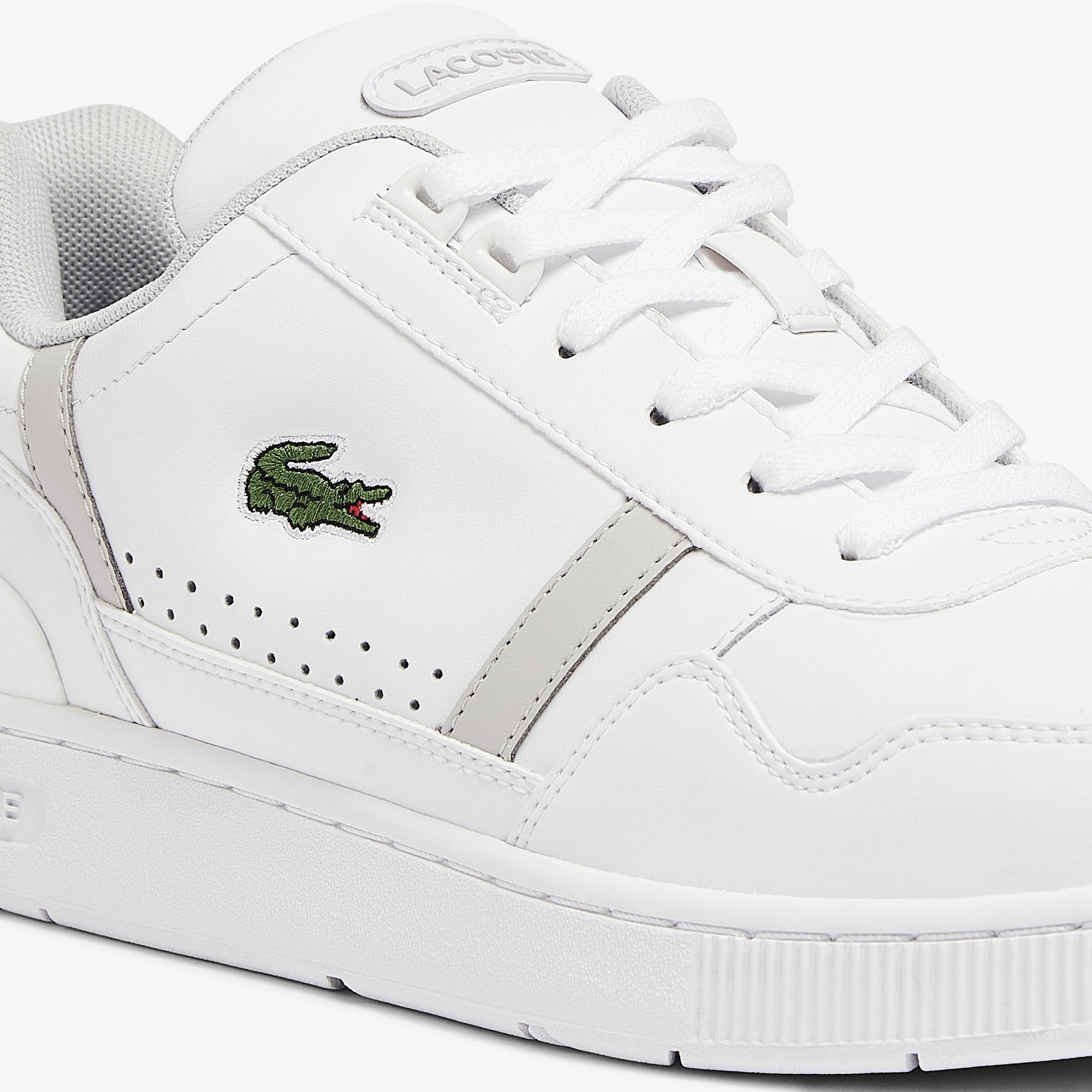 Lacoste T-Clip 0721 2 Sma Erkek Beyaz - Gri Sneaker