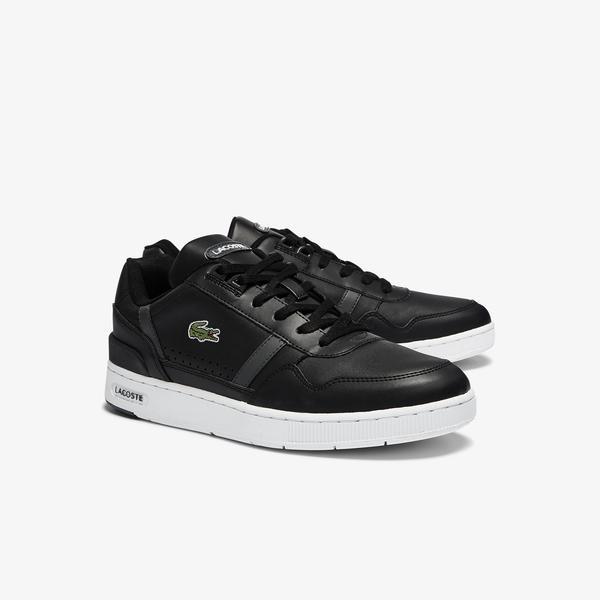 Lacoste T-Clip 0721 2 Sma Erkek Siyah - Antrasit Sneaker