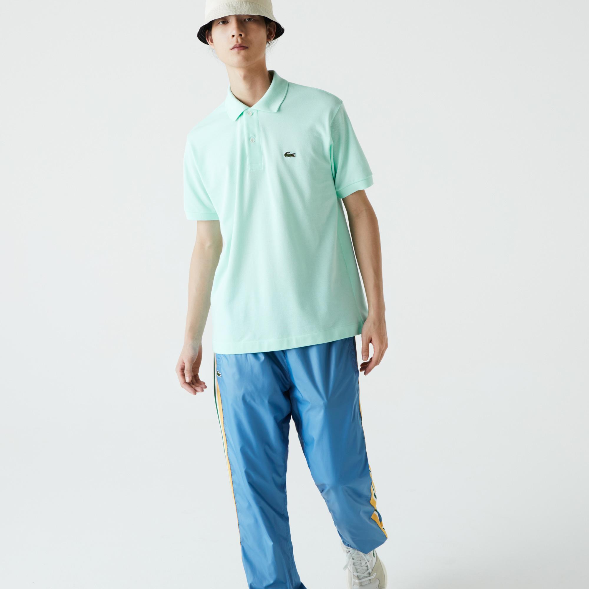Lacoste Erkek Klasik Fit Açık Yeşil Polo