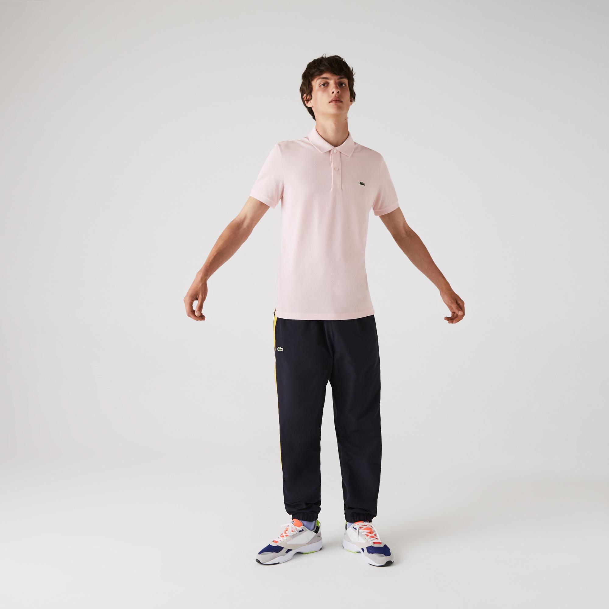 Lacoste Erkek Slim Fit Açık Pembe Polo