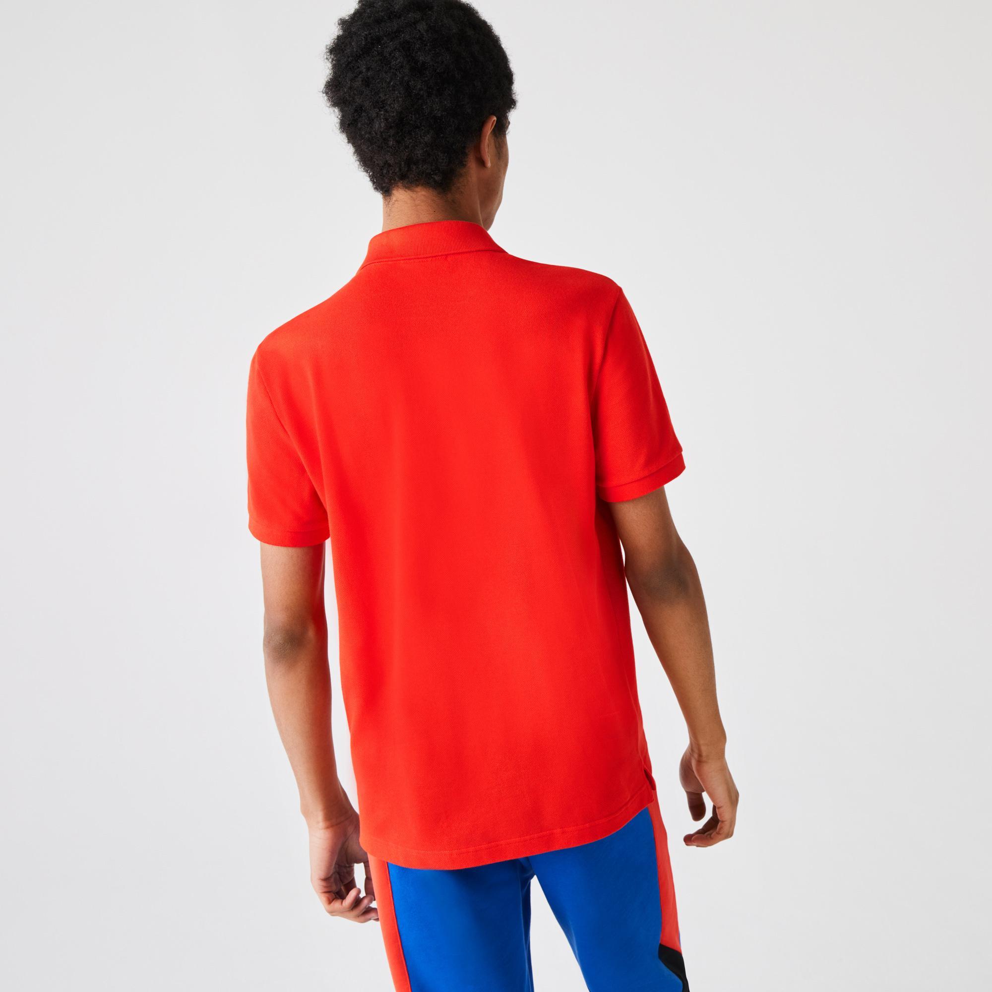 Lacoste Erkek Slim Fit Kırmızı Polo