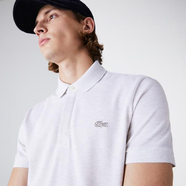 Lacoste Erkek Regular Fit Açık Bej Paris Polo