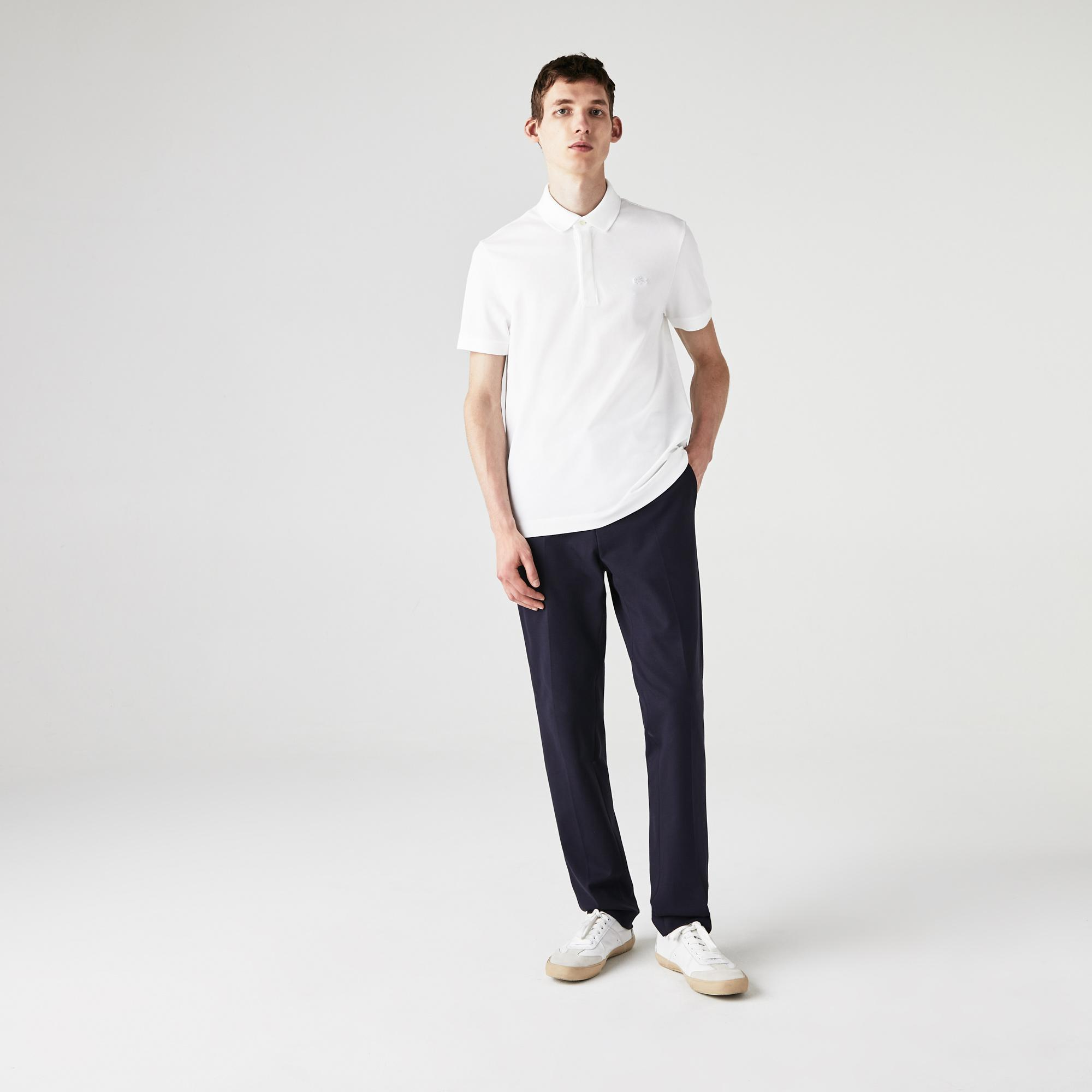 Lacoste Erkek Regular Fit Beyaz Paris Polo