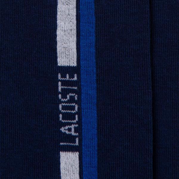 Lacoste Unisex Uzun Baskılı Lacivert Çorap