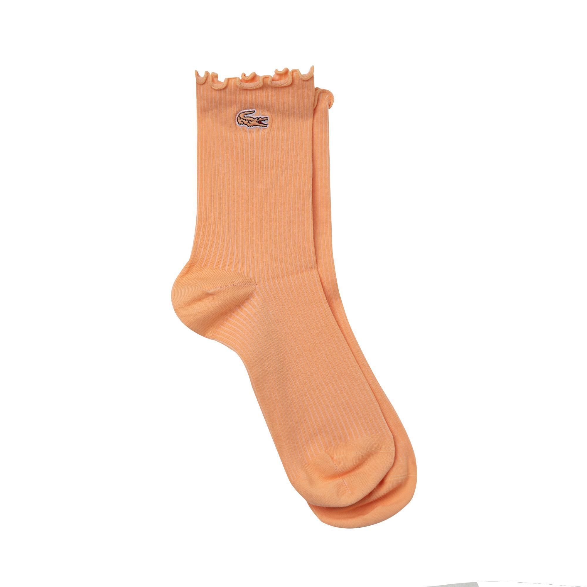 Lacoste Kadın Uzun Pembe Çorap