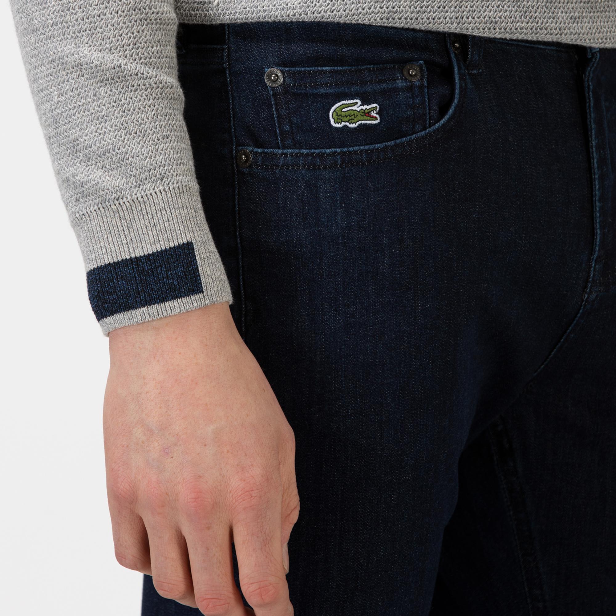 Lacoste Erkek Lacivert Denim Pantolon