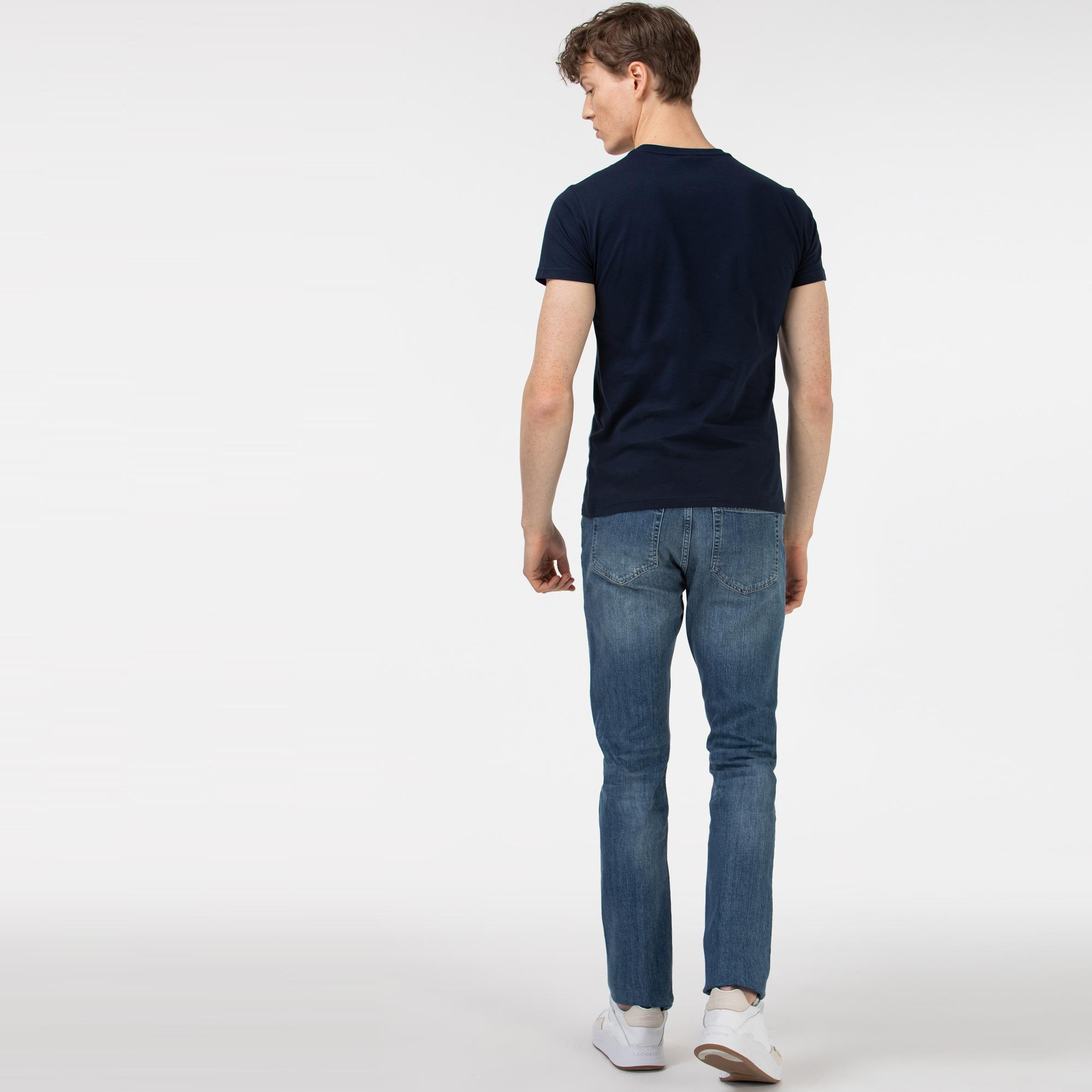 Lacoste Erkek Denim Pantolon