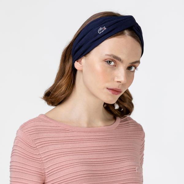 Lacoste Lacivert Saç Bandı