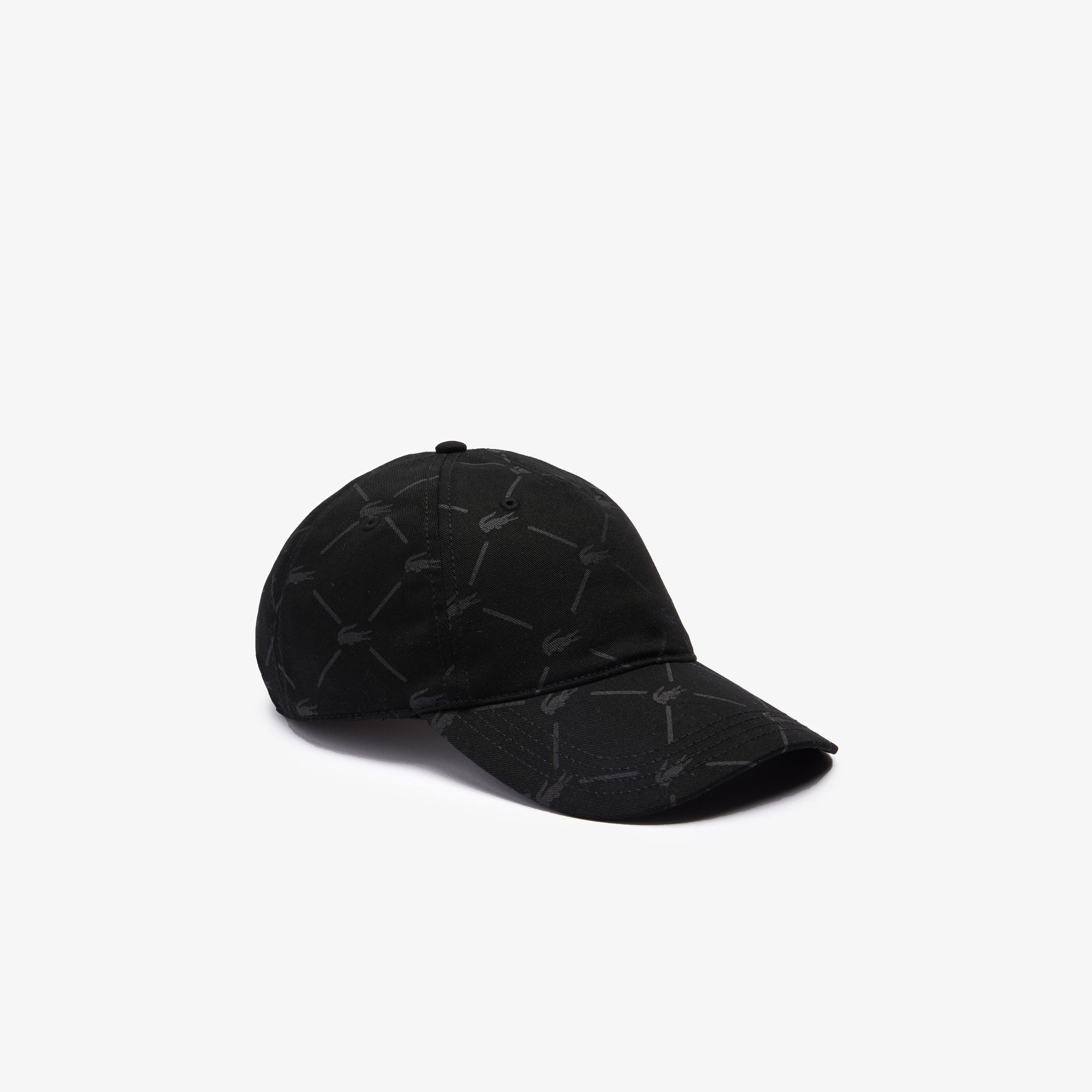 Lacoste L!VE Unisex Siyah Şapka