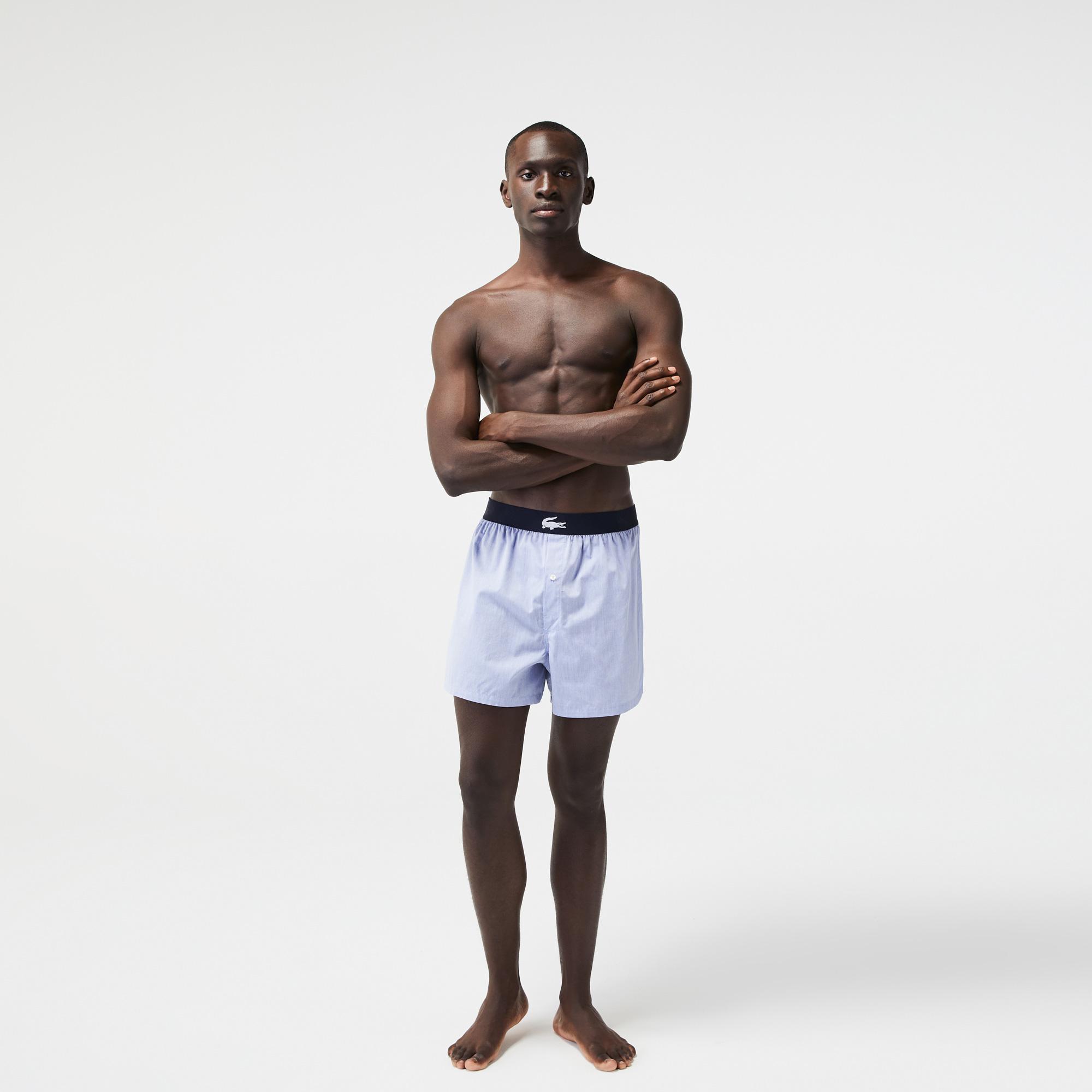 Lacoste Erkek Lacivert Boxer