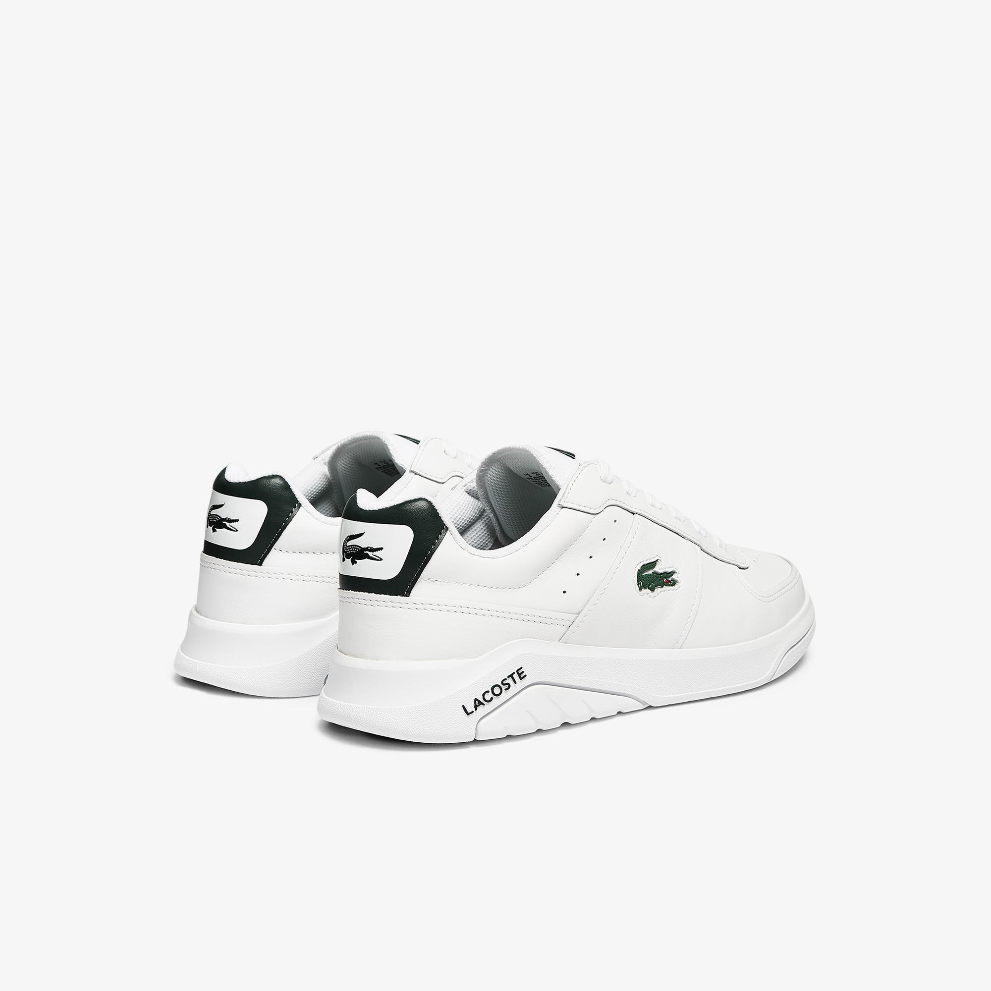 Lacoste Game Advance 0721 2 Sma Erkek Beyaz - Koyu Yeşil Sneaker