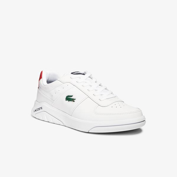 Lacoste Game Advance 0721 2 Sma Erkek Beyaz - Kırmızı Sneaker