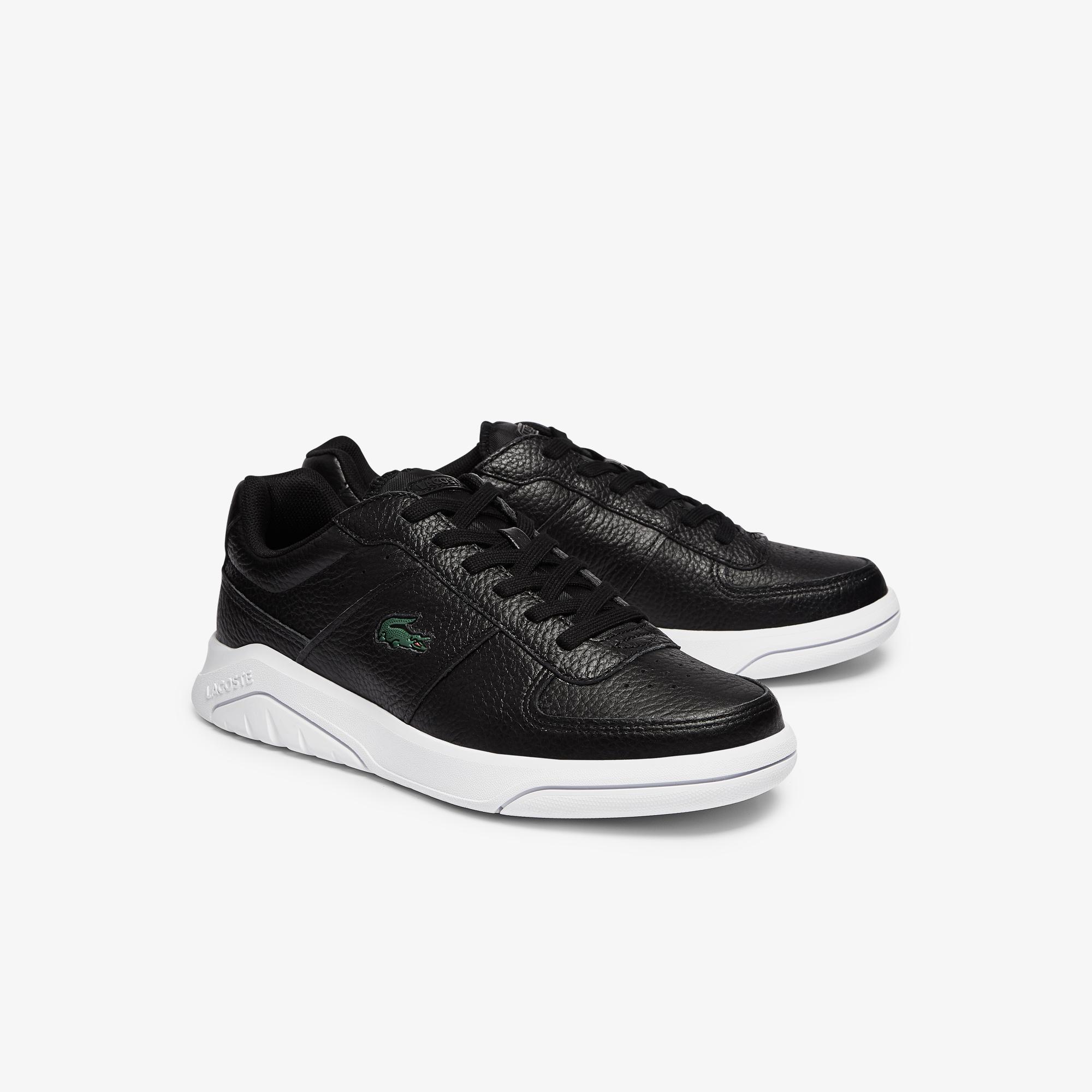 Lacoste Game Advance 0721 4 Sma Erkek Siyah - Beyaz Sneaker
