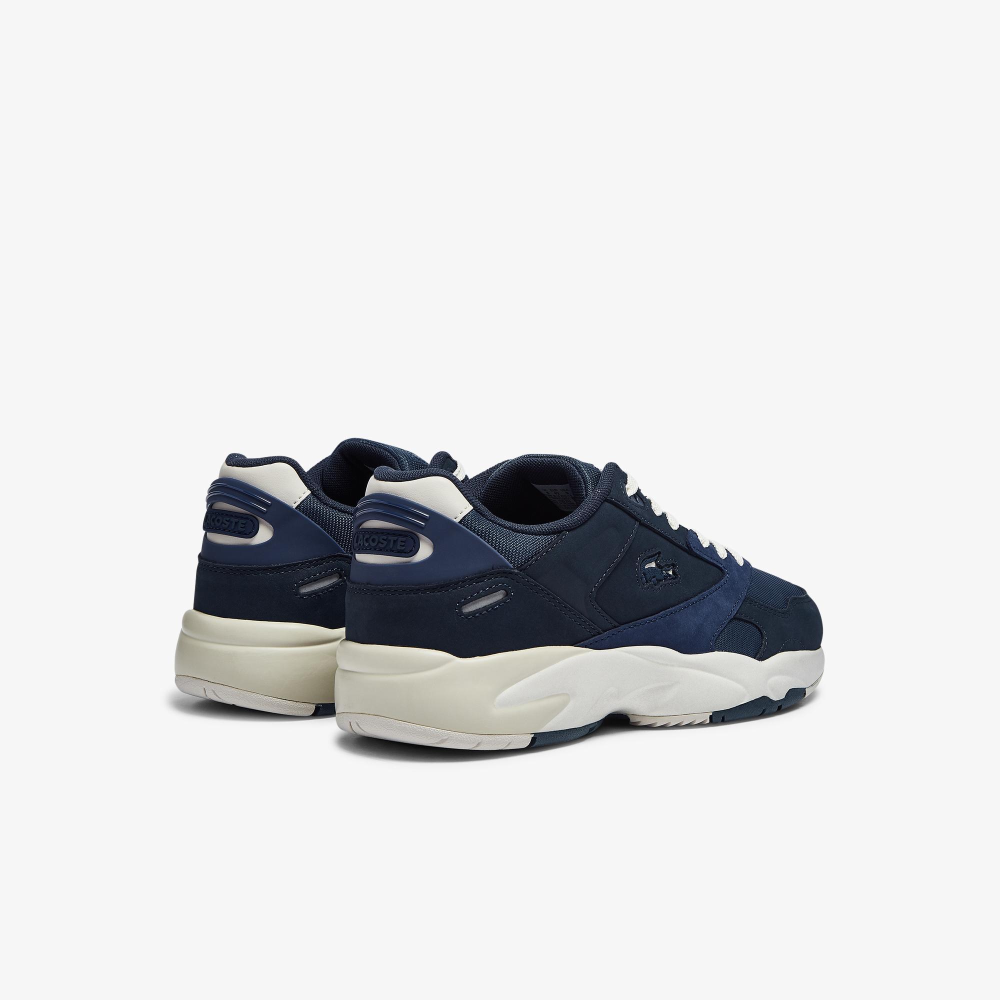 Lacoste Storm 96 Lo 0721 1 G Sma Erkek Lacivert - Mavi Sneaker