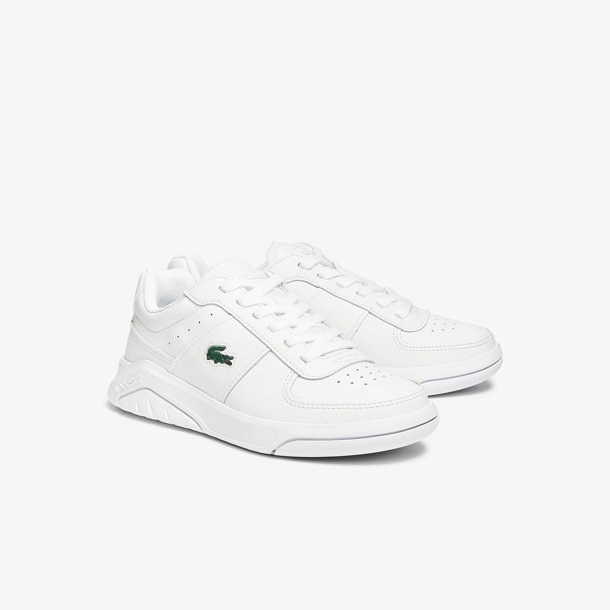 Lacoste Game Advance 0721 1 Sfa Kadın Beyaz Sneaker