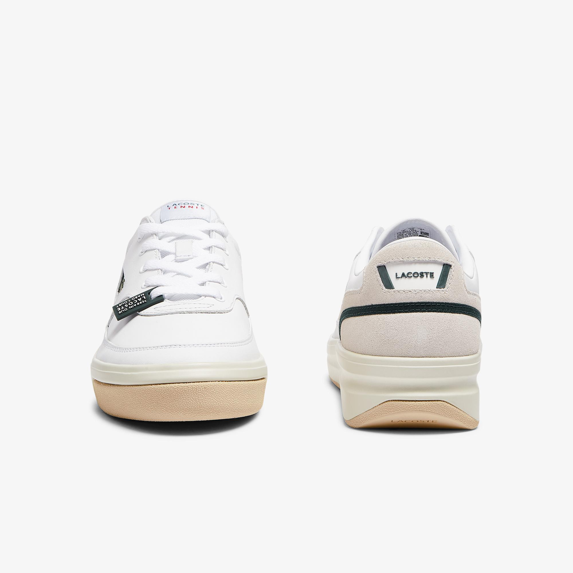 Lacoste G80 0721 1 Sma Erkek Beyaz - Koyu Yeşil Sneaker