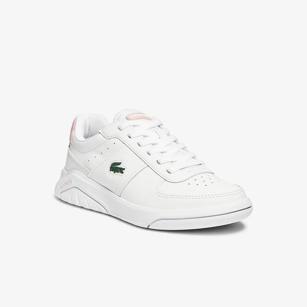 Lacoste Game Advance 0721 2 Sfa Kadın Beyaz - Pembe Sneaker