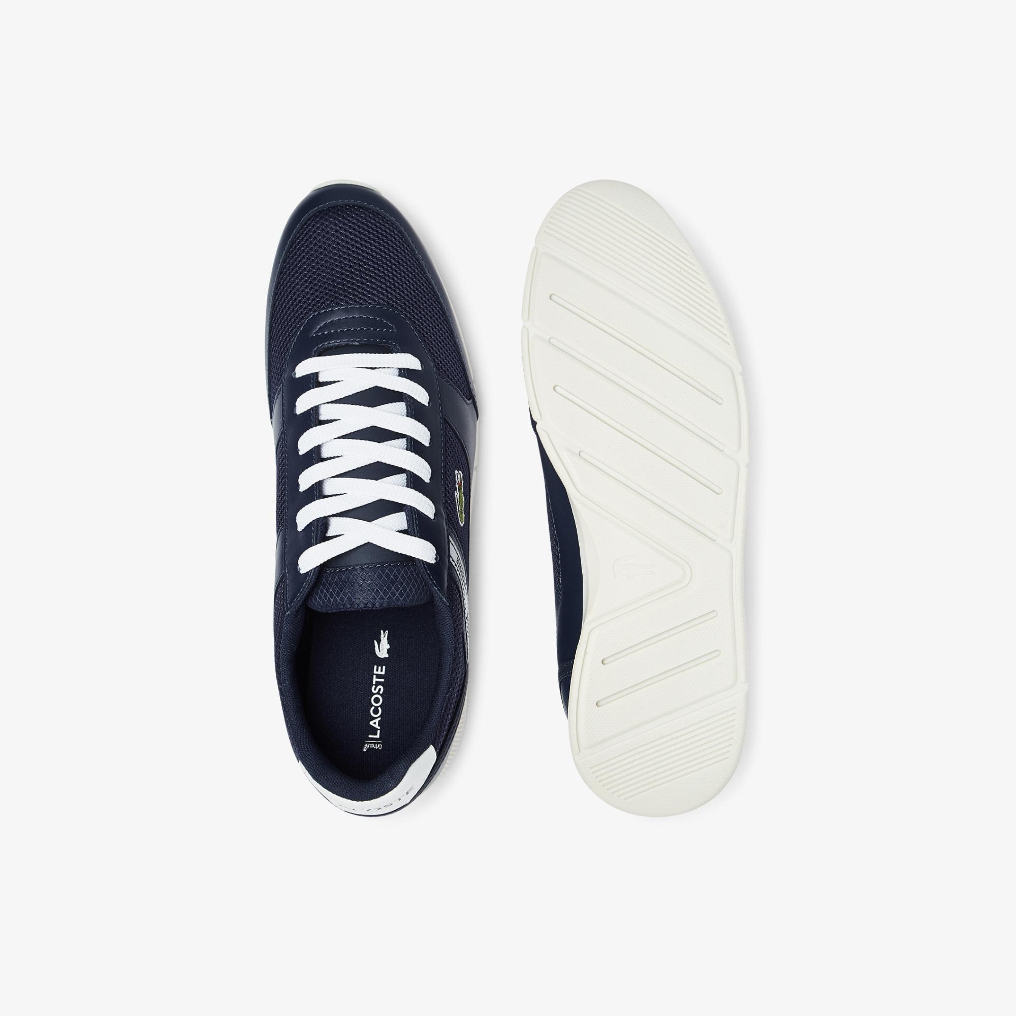 Lacoste Menerva Sport 0721 1 Cma Erkek Lacivert - Beyaz Sneaker