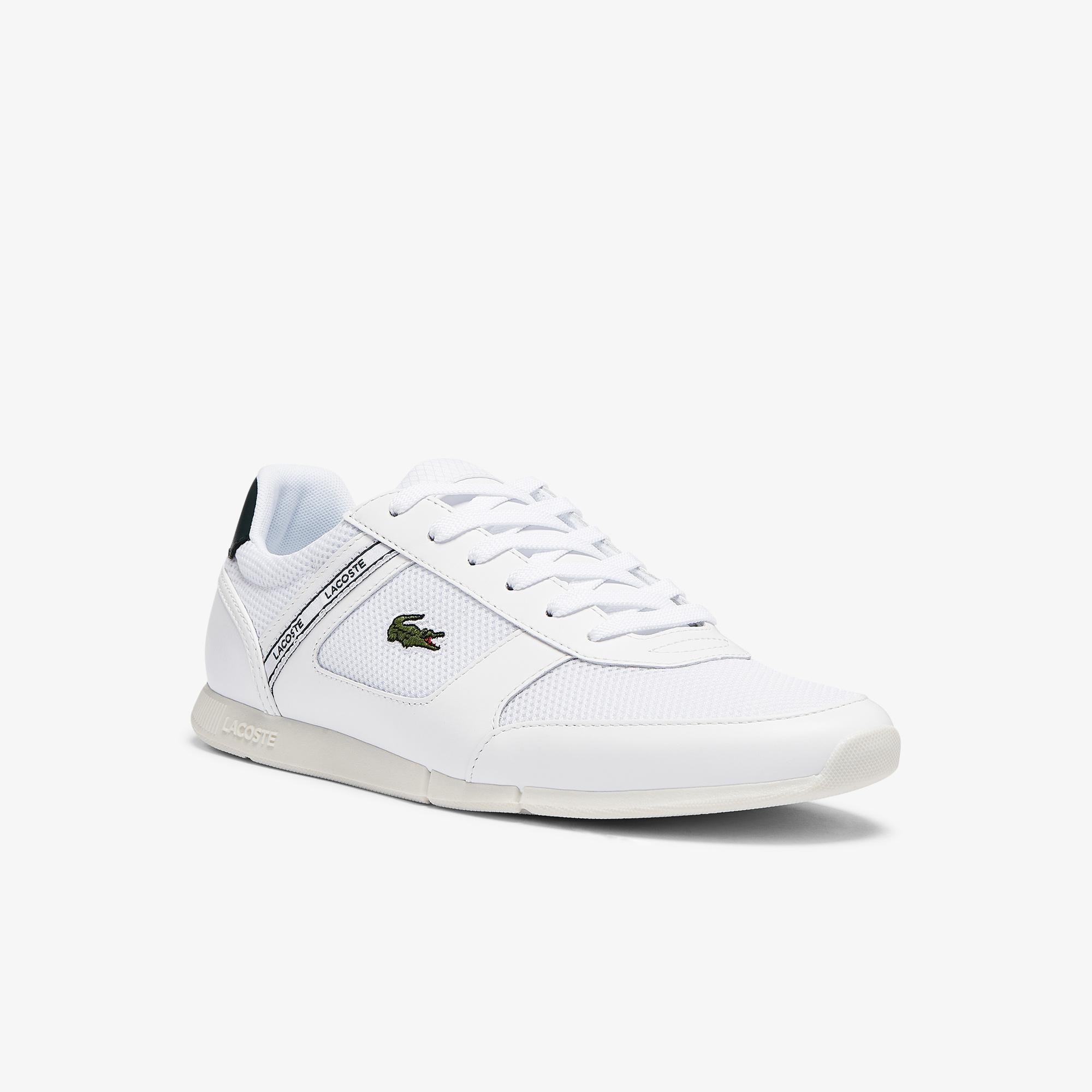 Lacoste Menerva Sport 0721 1 Cma Erkek Beyaz - Koyu Yeşil Sneaker