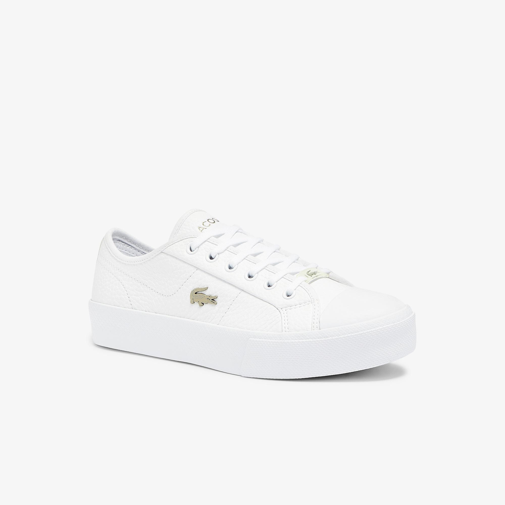 Lacoste Ziane Plus Grand 07211Cfa Kadın Beyaz Ayakkabı
