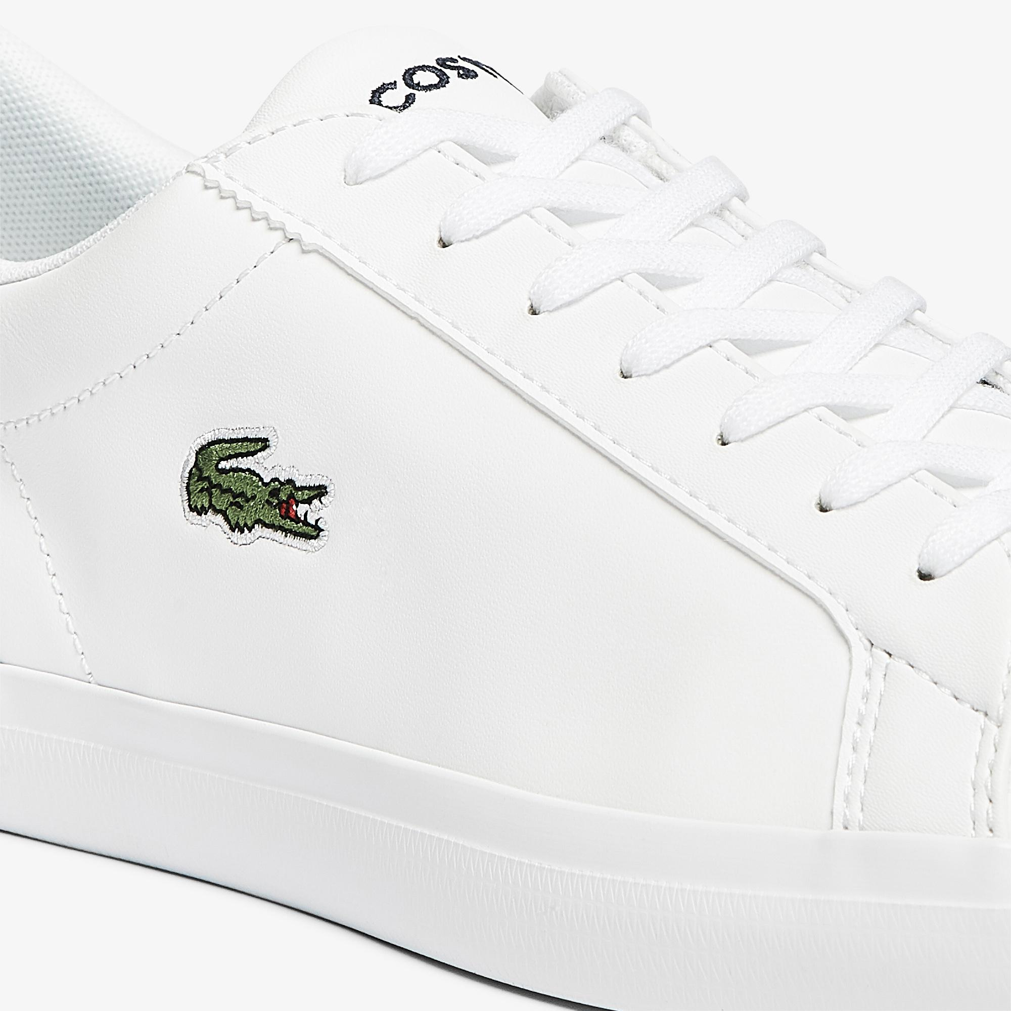 Lacoste Lerond Bl21 1 Cma Erkek Beyaz - Lacivert Sneaker