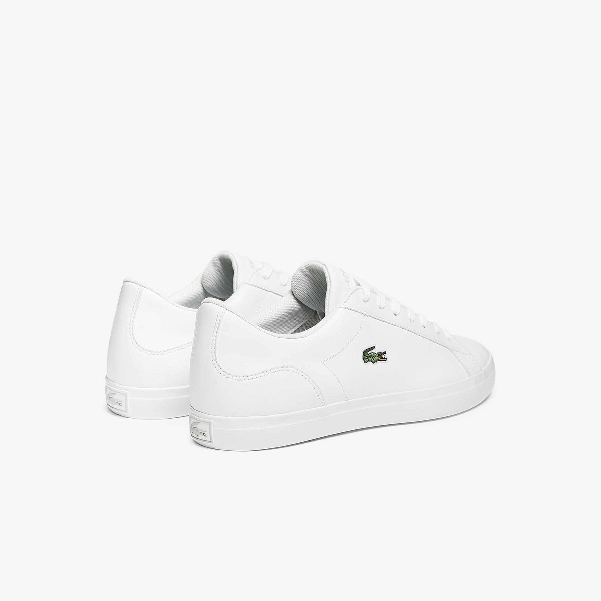 Lacoste Lerond Bl21 1 Cma Erkek Beyaz Sneaker