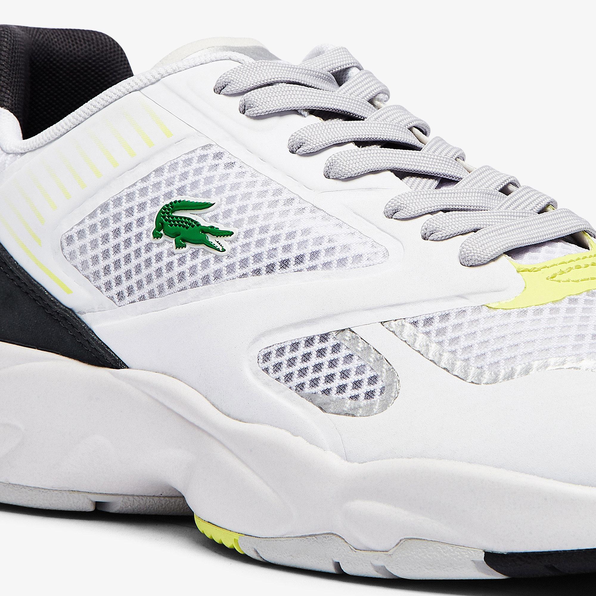 Lacoste Storm 96 Nano07211 Sma Erkek Beyaz - Sarı Sneaker