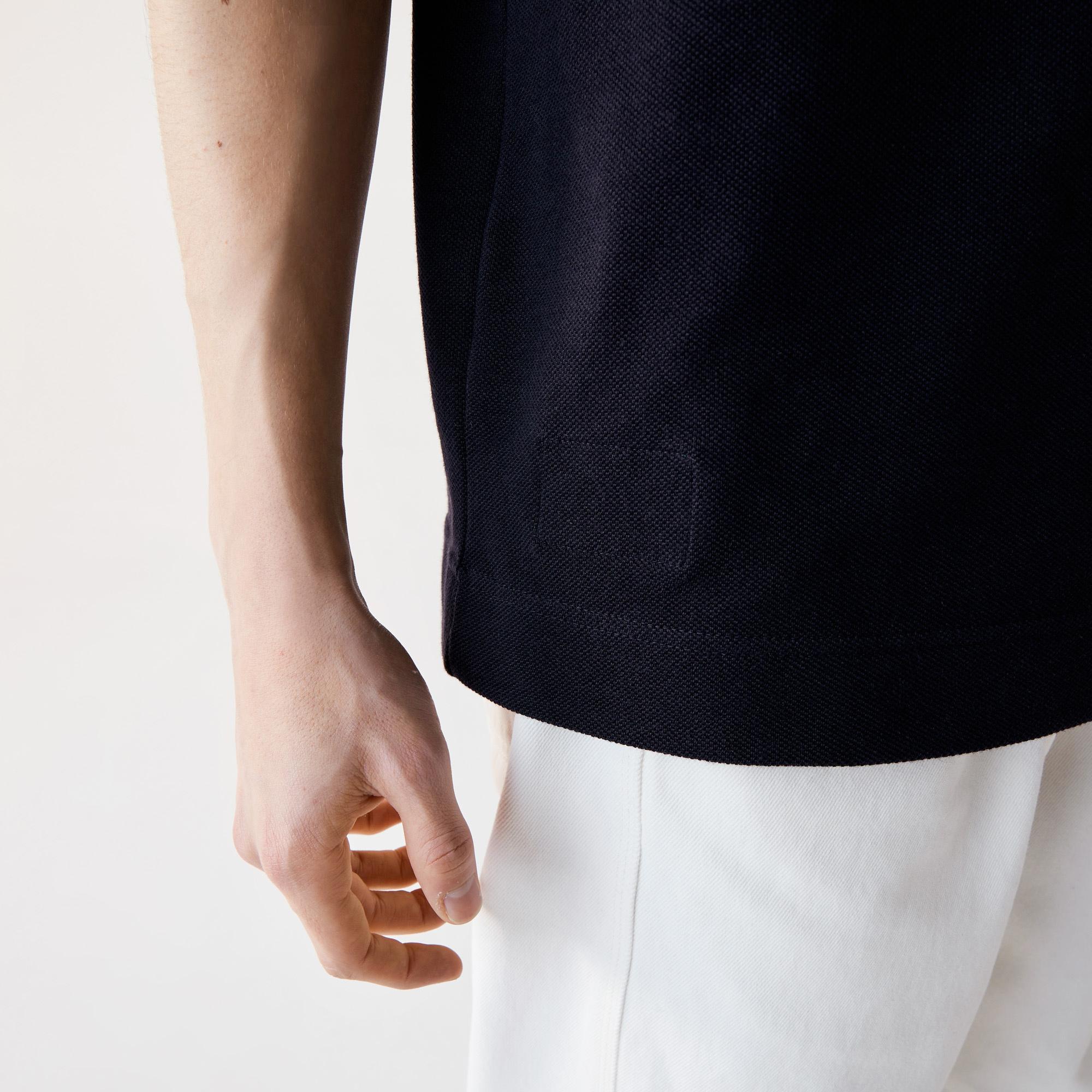 Lacoste Erkek Klasik Fit Organik Pamuk Lacivert L1221 Polo