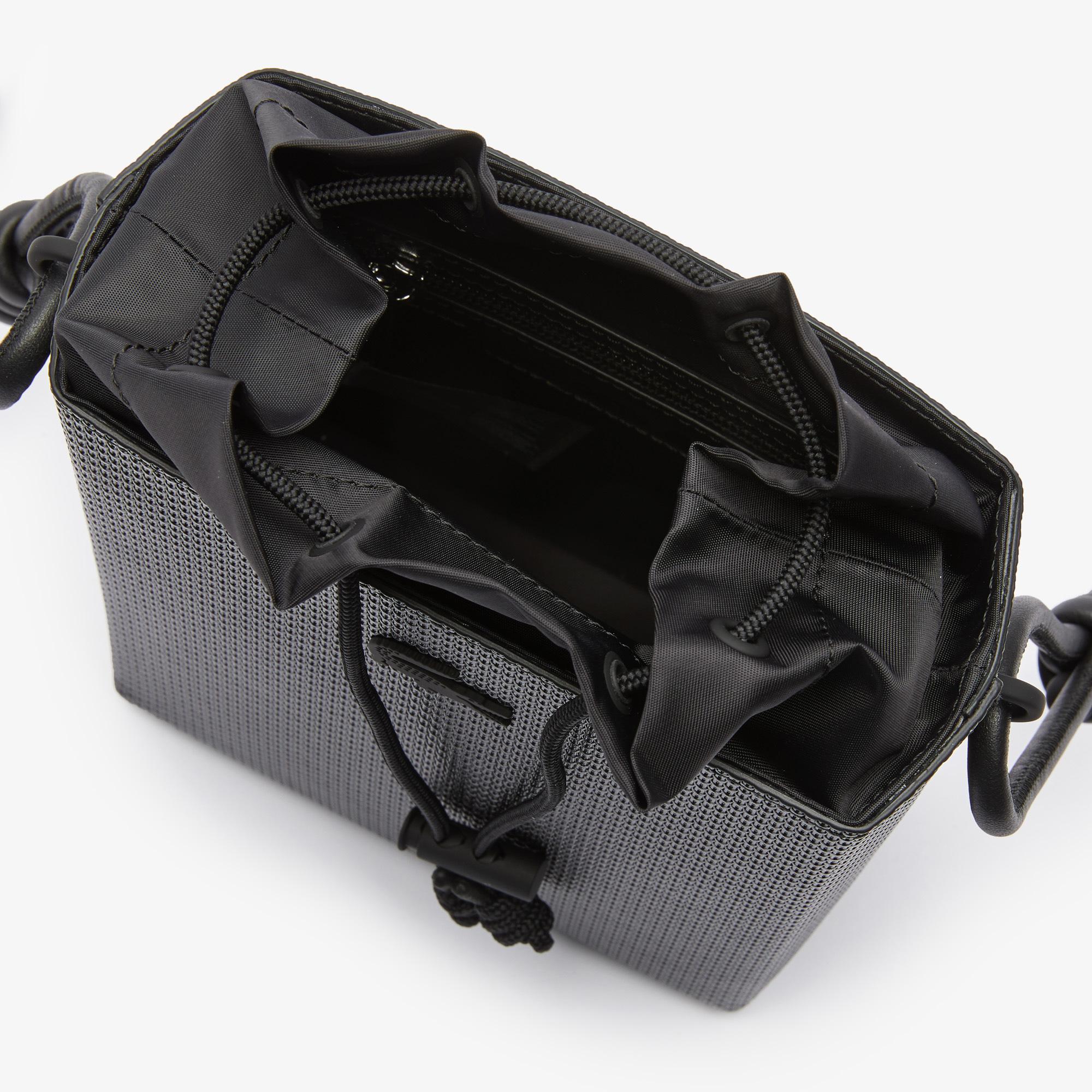 Lacoste Chantaco Kadın Deri Siyah Çanta