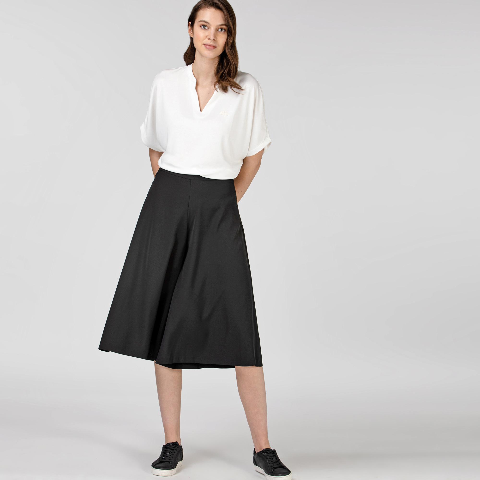 Lacoste Kadın Mid Siyah Pantolon