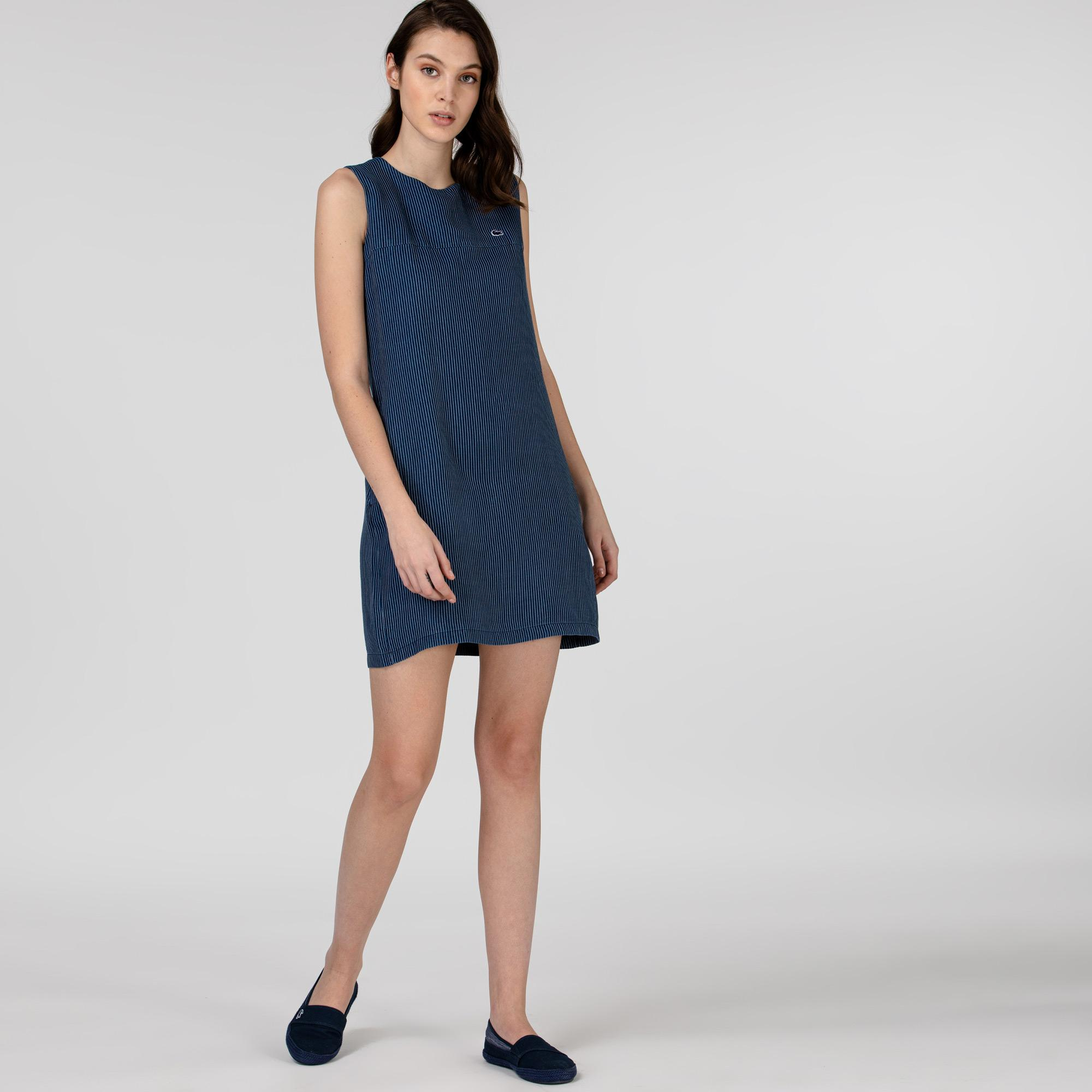 Lacoste Kadın Lacivert Elbise