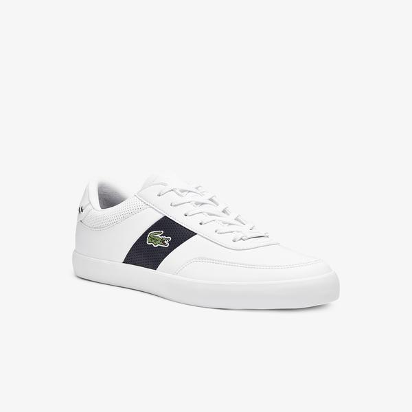 Lacoste Court-Master 0721 1 Cma Erkek Beyaz - Lacivert Sneaker