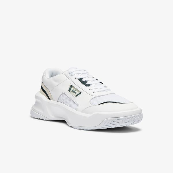 Lacoste Ace Lift 0721 1 Sma Erkek Beyaz - Koyu Yeşil Sneaker