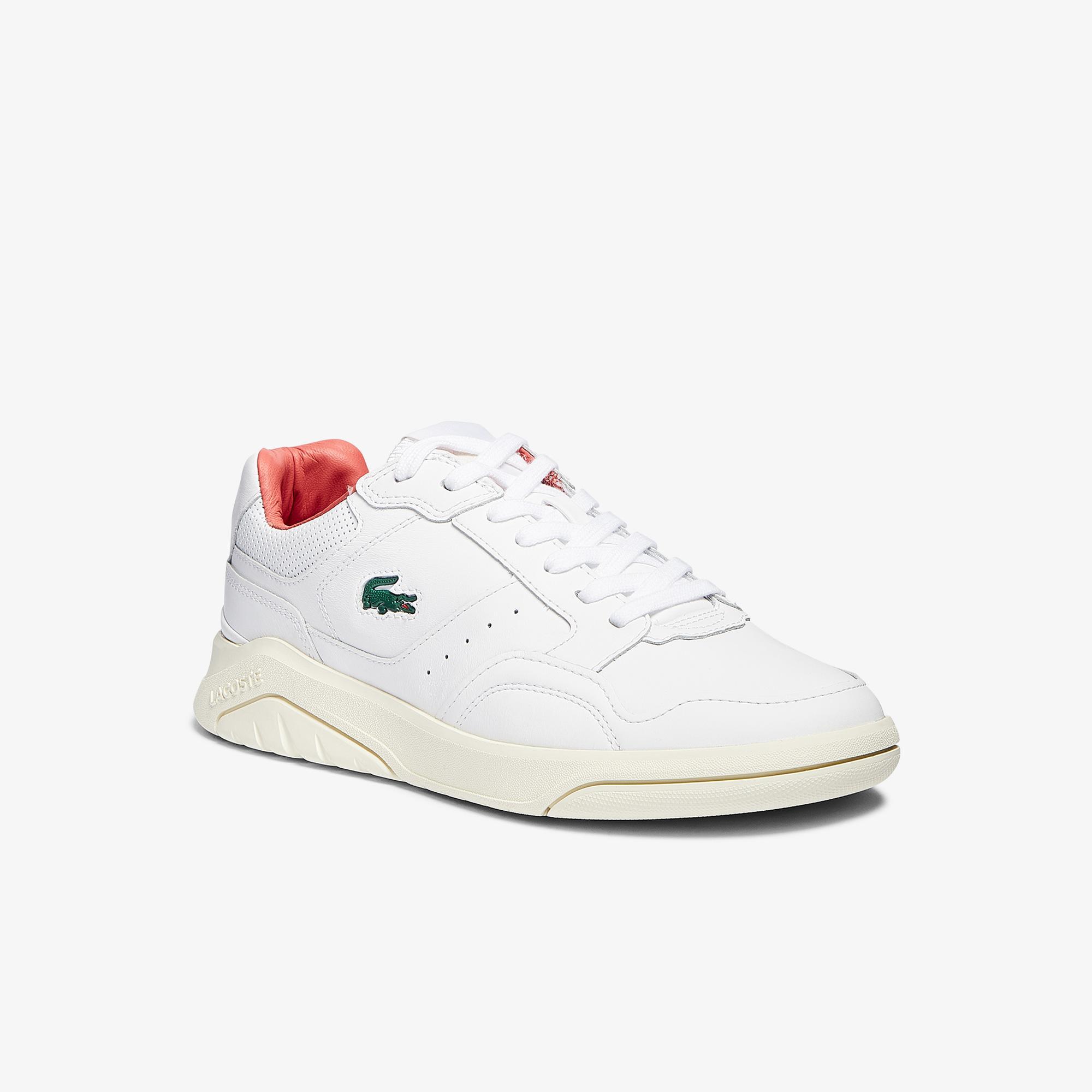 Lacoste Game Advance Luxe07212Sma Erkek Beyaz - Pembe Sneaker