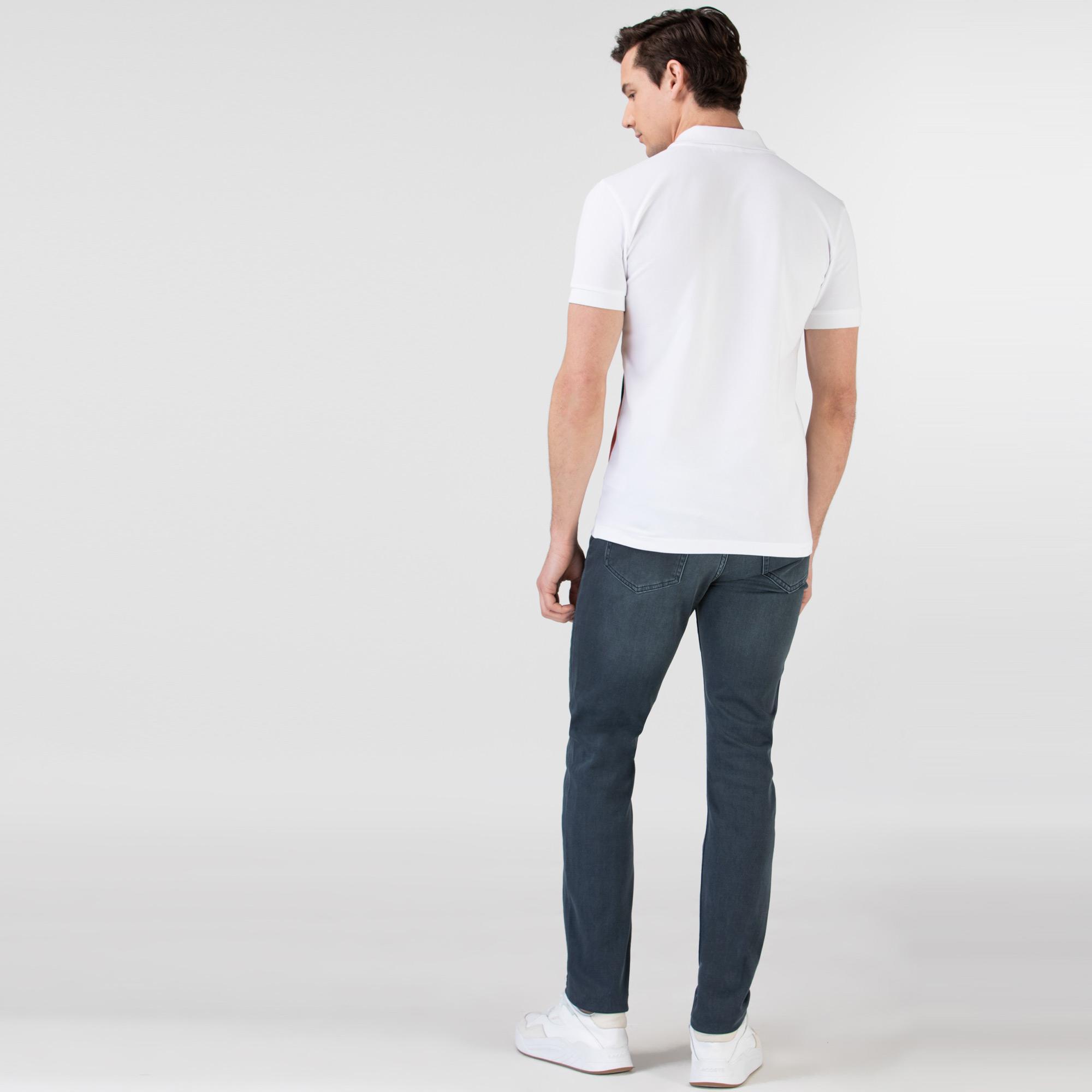 Lacoste Erkek Açık Mavi Denim Pantolon
