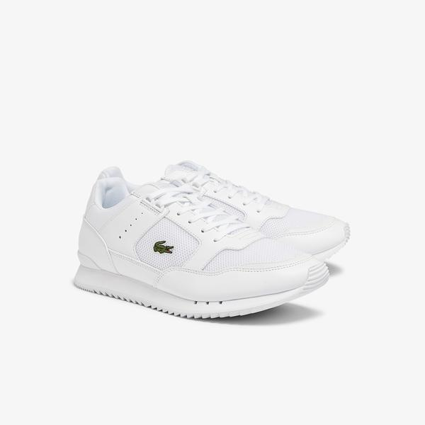 Lacoste Partner Piste 0721 1 Sma Erkek Beyaz Sneaker