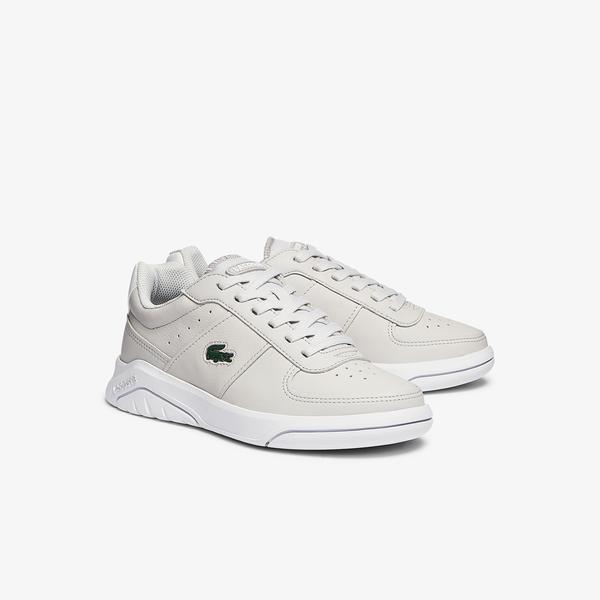 Lacoste Game Advance 0721 2 Sfa Kadın Açık Gri - Beyaz Sneaker