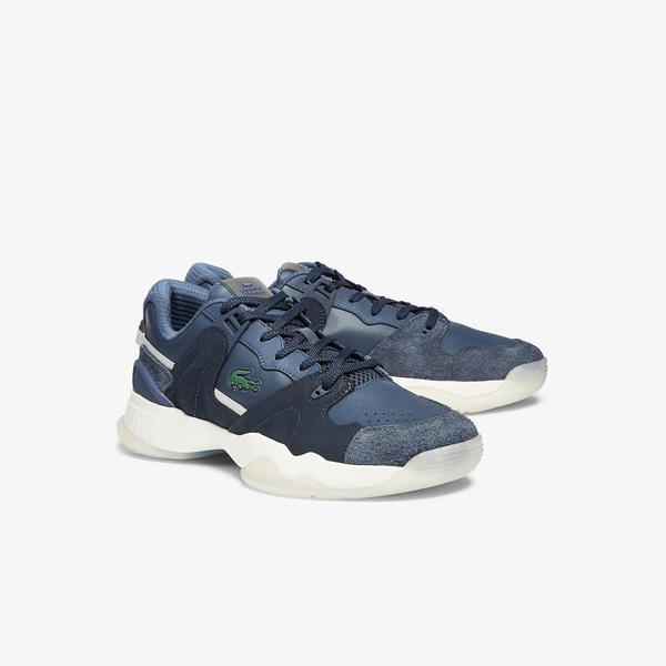Lacoste T-Point 0721 1 G Sma Erkek Lacivert - Beyaz Sneaker