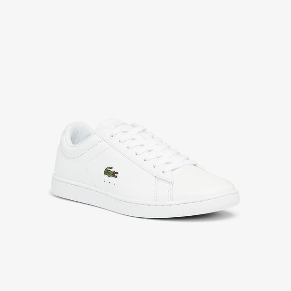 Lacoste Carnaby Evo Bl 21 1 Sfa Kadın Beyaz Sneaker