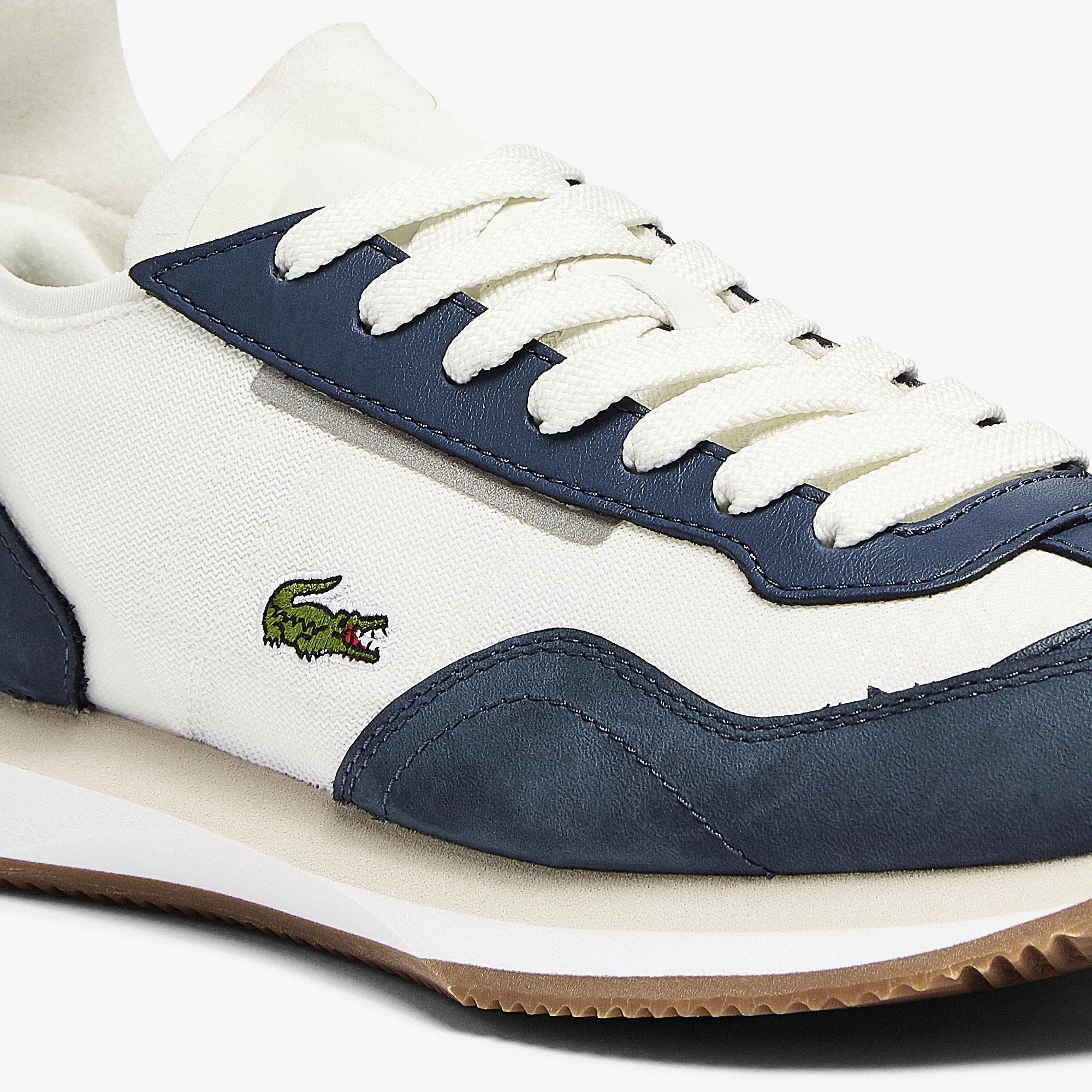 Lacoste Match Break 0721 1 G Sfa Kadın Lacivert - Beyaz Sneaker