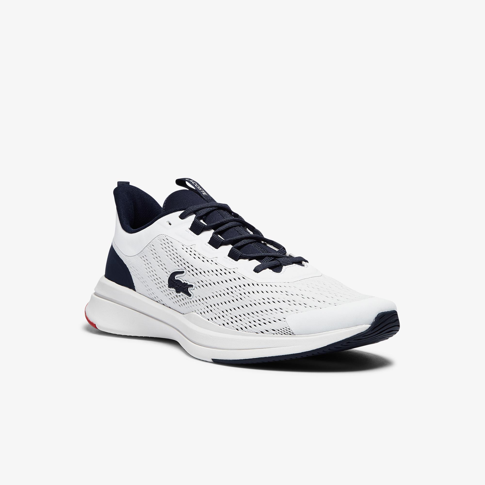 Lacoste Run Spin 0721 1 Sma Erkek Beyaz - Lacivert Sneaker